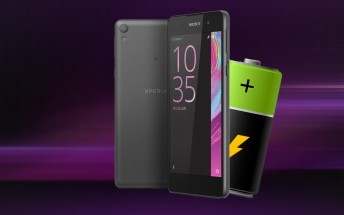 Sony Xperia E5 battery life test