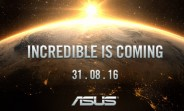 Asus will announce something on August 31, probably the Zenwatch 3