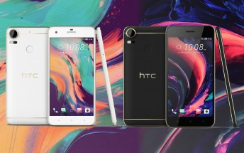 Pretty renders of HTC Desire 10 Lifestyle and Pro leak