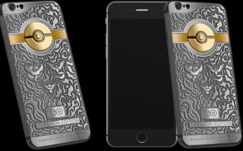 Caviar launches limited Pokemon Edition of iPhone 6s