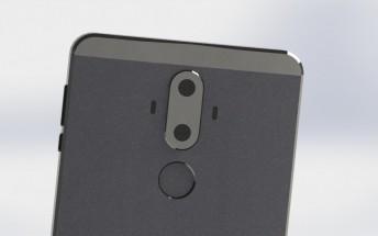 Huawei Mate 9 appears in leaked renders