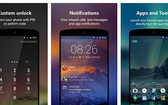 New Microsoft Next Lock Screen for Android update brings finger print unlock feature to more devices
