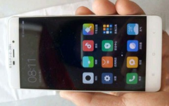 Xiaomi Redmi 4 photographed with a Redmi Note 3-like design