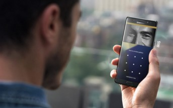 Samsung outs detailed info on its Galaxy Note7 iris scanner