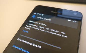 Carrier-locked devices start getting Windows 10 Mobile Anniversary Update