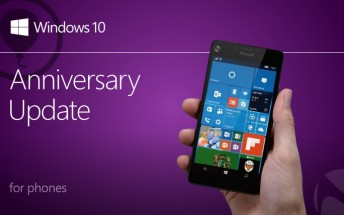 Report says Windows 10 Mobile Anniversary Update will begin rolling August 9