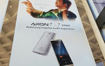 ZTE teases Axon 7 mini with dual-speaker for IFA event