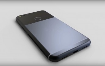 New 360-degree renders of Google  Pixel XL leave nothing to the imagination