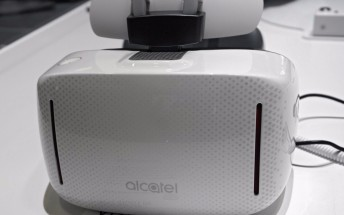 Alcatel Vision standalone VR headset is powered by Samsung's Exynos 7420 chipset
