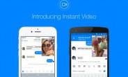 Facebook Messenger gains Instant Video