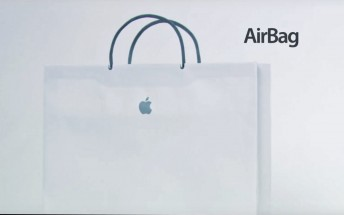 Apple introduces the AirBag on Conan in a humorous video
