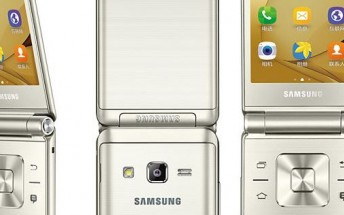 Samsung Galaxy Folder 2 leaks in press images