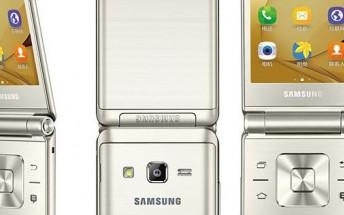 Samsung Galaxy Folder 2 leaks in press images