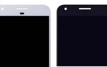 These might be the front panels for Google's upcoming Pixel and Pixel XL handsets
