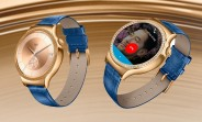 Gold Huawei Watch is 50% off at Amazon US