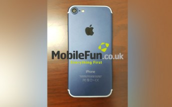 Possible blue iPhone 7 variant might be lighter than initially thought