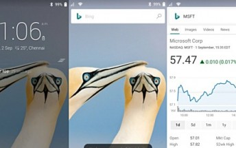 Microsoft's Next Lock Screen app now lets you perform web searches without unlocking your device