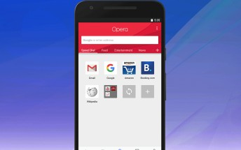 Opera for Android gets a fresh new coat of paint