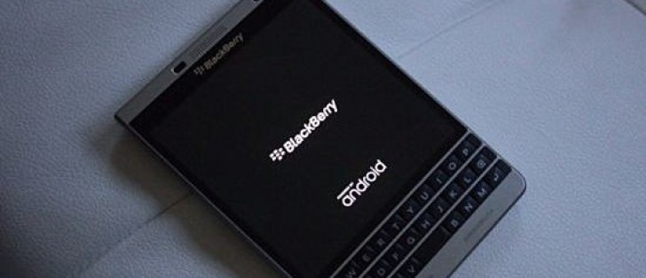 Android-powered BlackBerry Passport Silver Edition unit up