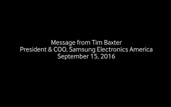 Samsung US apologizes for exploding Galaxy Note7 fiasco