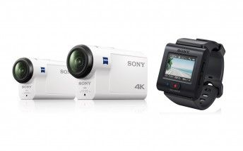 Sony announces two new action cams