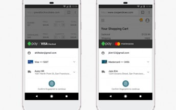 Android Pay will work with Visa Checkout and Masterpass