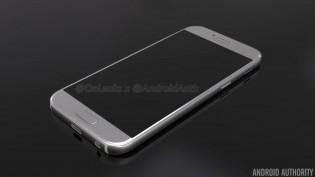 Galaxy A5 (2017) renders