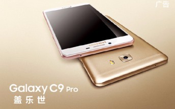 Samsung Galaxy C9 Pro press renders and specs leak ahead of tomorrow's unveiling