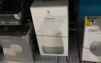 Google Home seen on sale at Walmart shelf before release