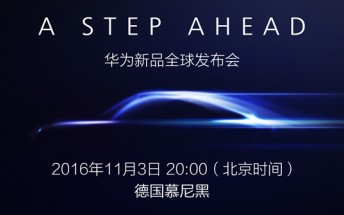 Huawei releases Mate 9 teaser for November 3 event