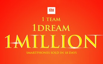 Xiaomi sells 1M phones in India in just 18 days, CEO celebrates