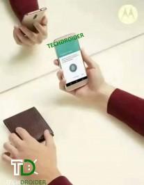 Motorola Moto M renders