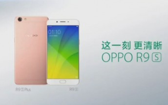 Oppo R9S and R9S Plus get pictured in TV commercial in China