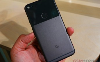 Confirmed: Google's Pixel and Pixel XL have IP53 dust and water resistance