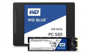 Western Digital's first SSDs: Blue