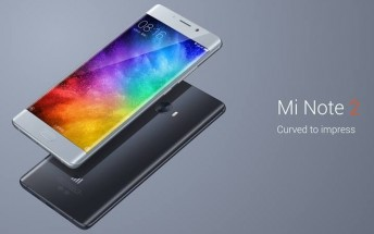Xiaomi Mi Note 2 is now official with a Snapdragon 821 and curved OLED panel