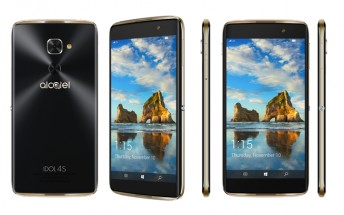 alcatel IDOL 4S with Windows 10 and VR is now available for purchase