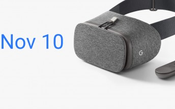 Google's Daydream View VR headset will be available on November 10