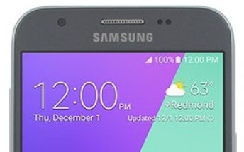 Samsung Galaxy J3 (2017) press image shows up