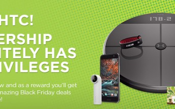 HTC is already offering Black Friday deals for its smartphones and accessories