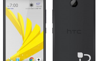 Upcoming HTC 10 evo (Bolt) is shown in black in new leaked press renders