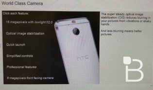 16MP camera with OIS
