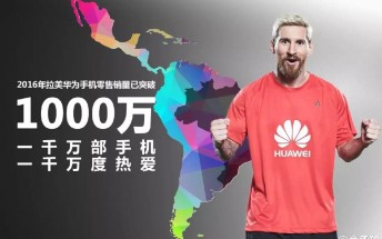 Huawei's phone sales in Latin America hits 10 million milestone