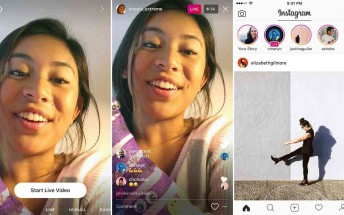 Instagram adds live video in Stories, disappearing media in Direct messages