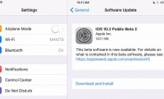 iOS 10.2 beta 2 is now available to the public