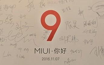 MIUI 9 update spotted in screenshots