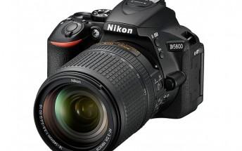 Nikon announces D5600 entry-level DSLR