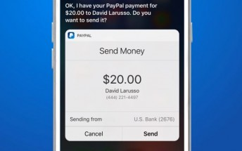 PayPal gains Siri integration, you can send and request money with your voice