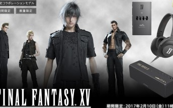 Sony outs laughably bad Final Fantasy XV branded audio products