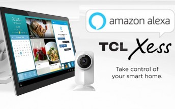 TCL announces new XESS home tablet, with built-in Amazon Alexa capabilities